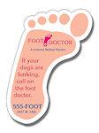 Footprint Shape Magnets